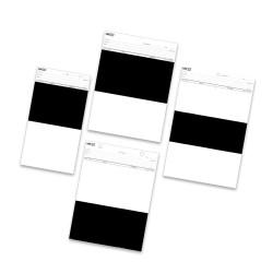 Karty testowe Leneta Elcometer 4695 czarno białe Opacity Charts