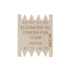 Elcometer 155- grzebień do pomiaru powłok proszkowych przed wygrzaniem 50-225 um