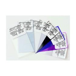 Folie kalibracyjne precyzyjne 1 % - płytki wzorcujące do mierników grubości powłoki
