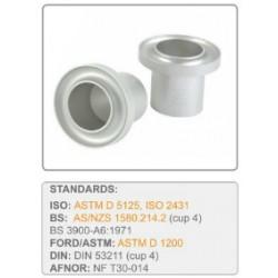 Kubki laboratoryjne (do statywu)  badanie lepkości FORD DIN ISO FRIKMAR BS