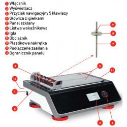 Cyfrowy rejestrator schnięcia farb i lakierów