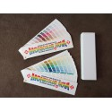 Wzornik kolorów Tikkurila Monicolor NOVA 2024 kolory podwójny wachlarz.