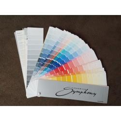 Wzornik kolorów Tikkurila Symphony pojedynczy wachlarz 720+20 kolorów